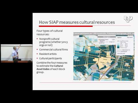Culture, Neighborhood Transformation and Social Wellbeing... Mark J. Stern (SIAP, UPenn)