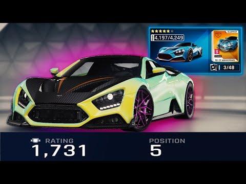 ASPHALT 9   5* Zenvo TS1 GT in Multiplayer