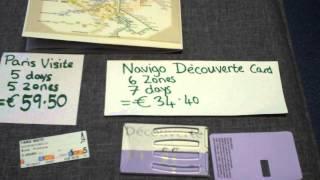 Paris Visite V Navigo Decouverte Metro SAVING MONEY Disneyland