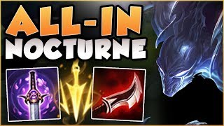Baixar WTF! ALL-IN NOCTURNE 100% HAS TOO MUCH BURST! NOCTURNE SEASON 8 TOP GAMEPLAY! - League of Legends