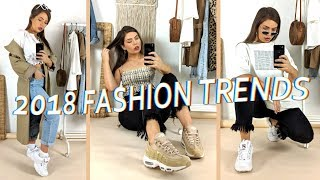 2018 Fashion Trends to Invest in this Spring!