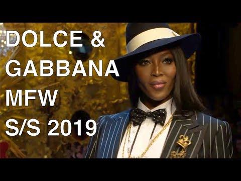 DOLCE & GABBANA | SPRING SUMMER 2019 | FULL FASHION SHOW