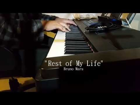 """""""Rest of My Life"""" - Bruno Mars (Piano - Fonzi M) - on iTunes, Spotify, & More!"""