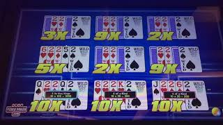 POWERHOUSE POKER AND OTHER VIDEO POKER WINS!!!