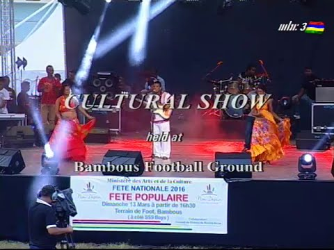 FETE NATIONALE 2016 - SPECTACLE REGIONAL - BAMBOUS