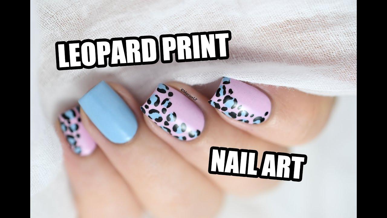 How To: Leopard Print Nail Art || Marine Loves Polish - YouTube