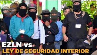 """Ley de Seguridad Interior legitimará al """"grupo armado"""" del PRI: Subcomandante Galeano"""