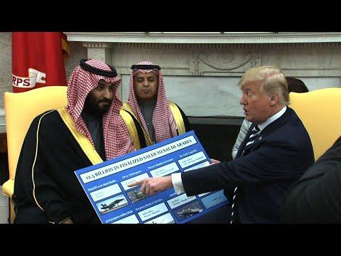Trump Thanks Saudi Prince For U.S. Investments