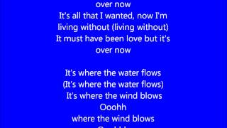 Glee - It must have been love - Lyrics