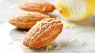 Lemon-grand Marnier Madeleines