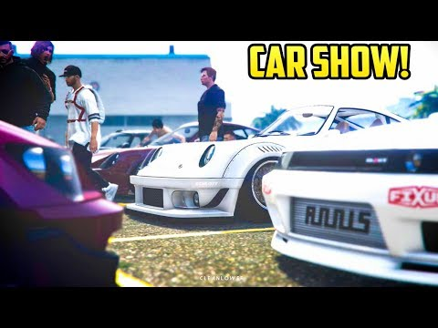 "GTA Online - ""ANY CAR"" CAR SHOW (The Best Customization)"