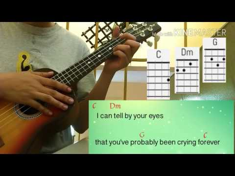 I dont wanna talk about it (Rod Stewart) Ukelele cover