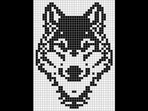 Плетем фенечку Волк прямым