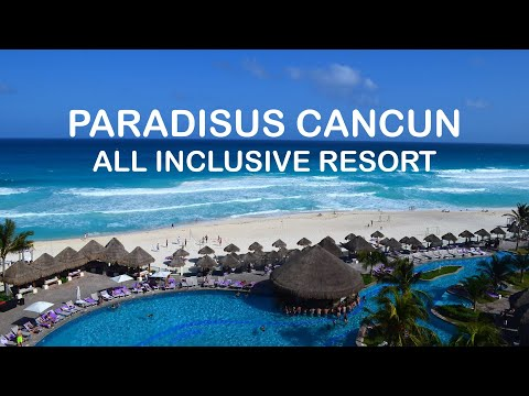 Paradisus Cancun Resort - All Inclusive - Pyramid shape hotel, Pools, Beach