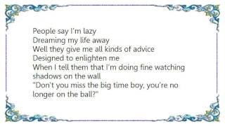John Lennon - Watching the Wheels Home Recording Lyrics