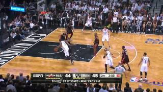 Miami Heat vs Brooklyn Nets Game 3 | May 10, 2014 | NBA Playof…