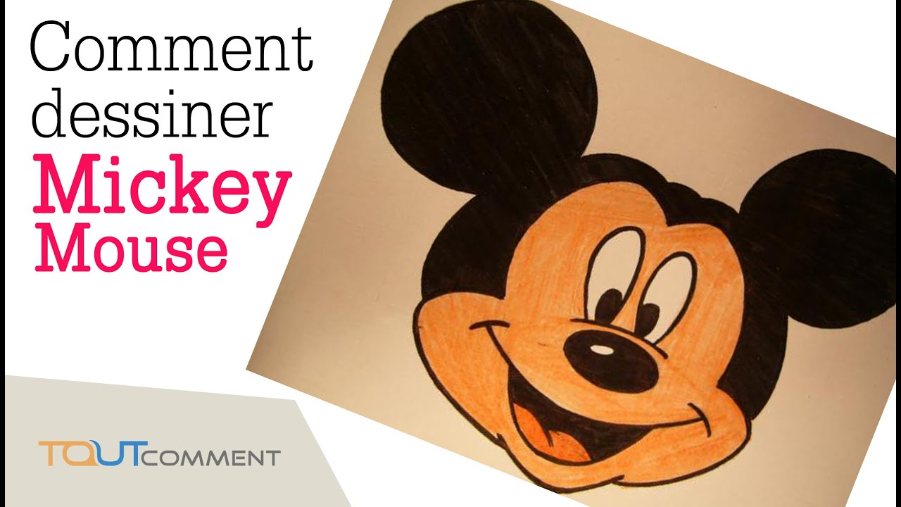 Comment dessiner mickey mouse facilement youtube - Dessiner mickey ...