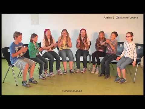 Geräuschlawine - Bodypercussion kreativ inklusiv