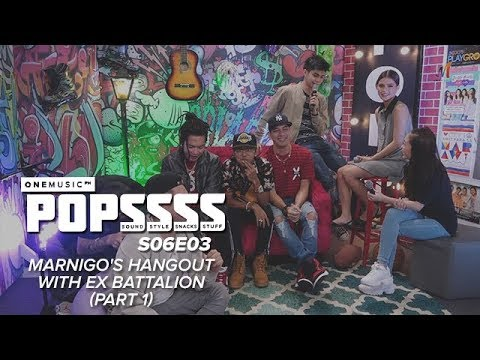 Marnigo's Hangout with Ex B | One Music POPSSSS S06E03