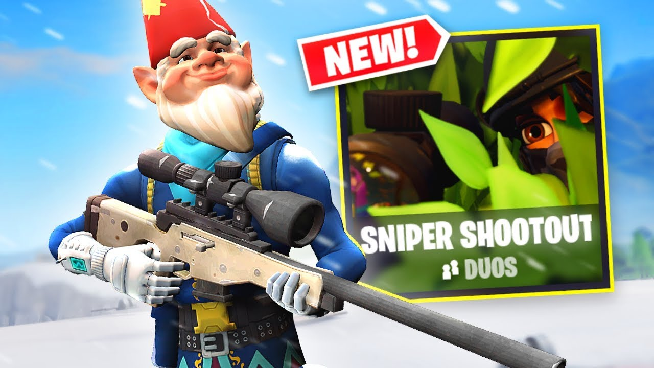 Flying With Balloons And Snipers Fortnite Sniper Shootout Is Back Again 17 Elims With New Grimbles Skin Youtube