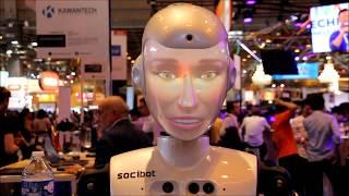 VIVA TECHNOLOGY  - homem voa, robos falam e servem bebidas realidade virtual