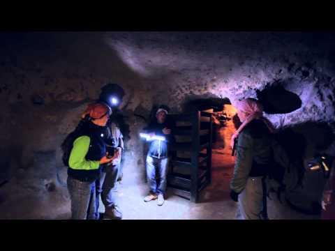 Турция. Каппадокия. Подземный город у деревни Мазы. (Turkey. Cappadocia. Mazi Underground City)
