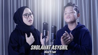 [4.35 MB] SHOLAWAT ASYGHIL - Nissa ft Fadli Habibi - Cover by Sabyan