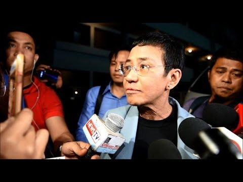 Philippines journalist Ressa posts bail after libel charge Mp3