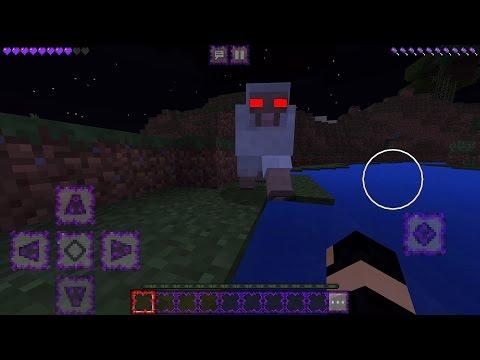 ( NOVA SÉRIE ) SOBRENATURAL MINECRAFT POCKET EDITION - PRIMEIRO DIA UMA OVELHA TENTOU ME MATAR - Видео из Майнкрафт (Minecraft)