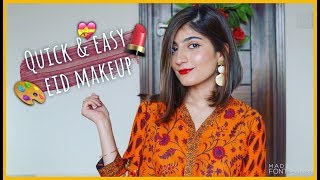 EID MAKEUP LOOK | Testing Vegas Cosmetics and Halal Makeup | Anushae Says