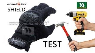 Rukavice Armored Claw Shield Black Gloves