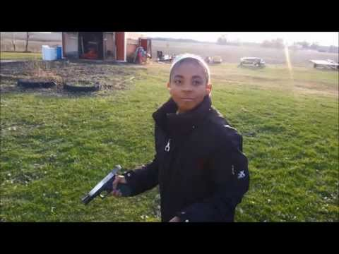 Girls With Guns | 11 yr old Shooting GLOCK .40 Cal First Time Ever