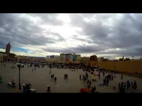 Time Lapse From Oujda Morocco Gopro Hero 4 Black