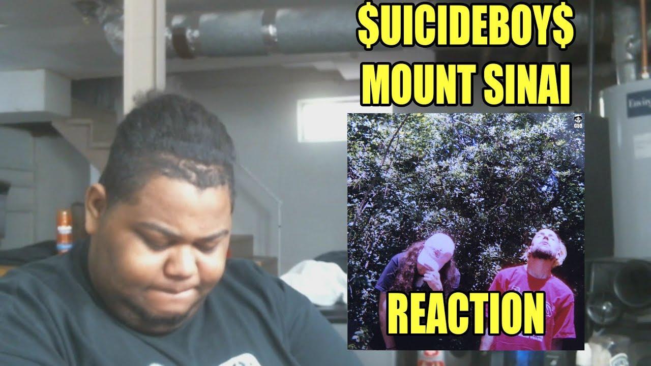$UICIDEBOY$ MOUNT SINAI Reaction
