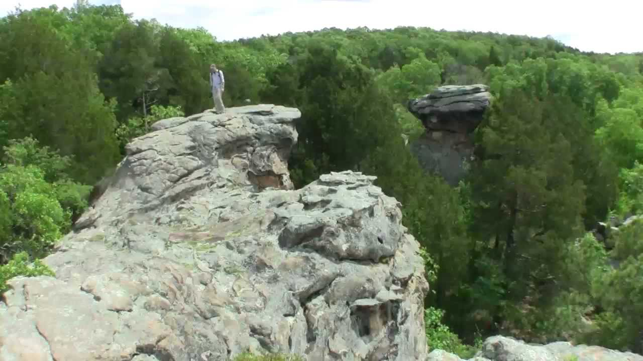 Shawnee National Forest Garden Of The Gods Youtube