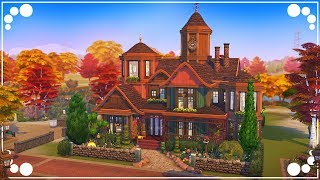 QUIRKY FAMILY HOME 🍁 | The Sims 4 | Speed Build
