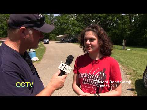 2015 Oxford High School Band Camp