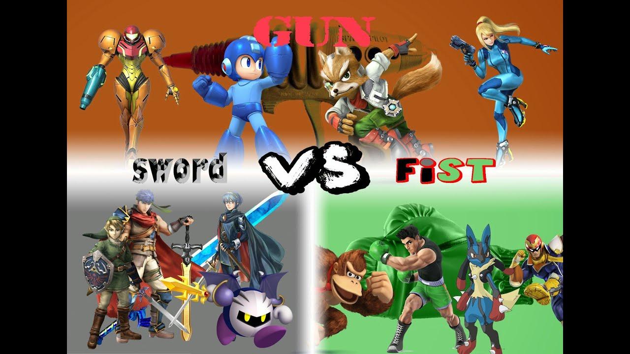 vs sword sword sword Fist