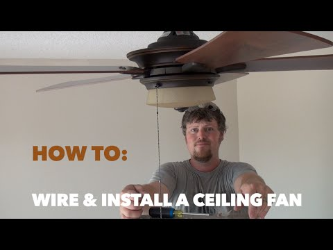 How to Wire and Install a Hampton Bay Ceiling Fan - YouTube Hampton Bay Uc Rc Wiring Diagram on hampton bay fans wiring diagram, hampton bay remote wiring diagram, hampton bay switch wiring diagram,