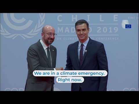 President Michel at COP25 - Highlights