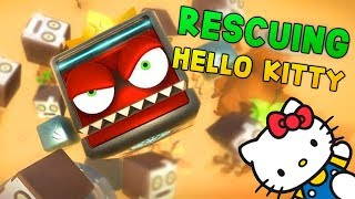 RESCUING HELLO KITTY IN VR! | Angry Ball VR gameplay - HTC Vive