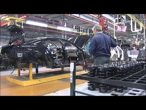 Jaguar Castle Bromwich Plant Factory Footage