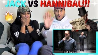 "Epic Rap Battles of History ""Jack the Ripper vs Hannibal Lecter"" REACTION!!!"
