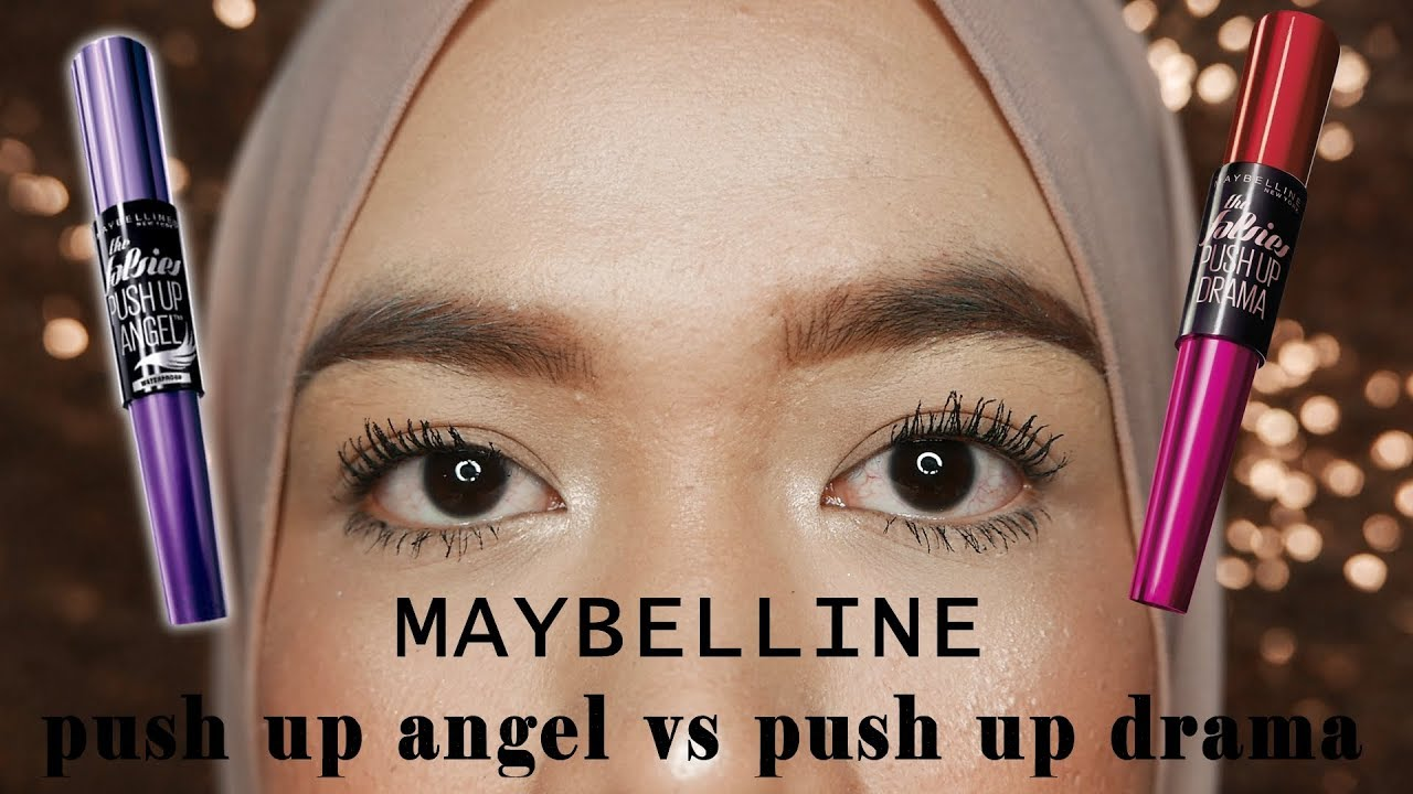 bcdcd4f4646 Maybelline Push Up Angel VS Push Up Drama - YouTube