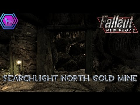 Behind the rocks at Searchlight North Gold Mine | Fallout: New Vegas
