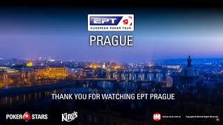 EPT ПРАГА Главное Событие, Финальный Стол (с открытыми картами)