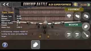 Gunship Battle – B-29 Super Fortress - Weapons and Equipment 신규 기체