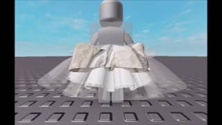 how to make a cute skirt on roblox studio!