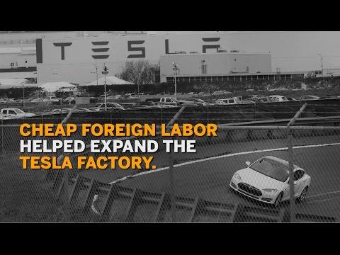 The hidden workforce expanding Tesla's factory
