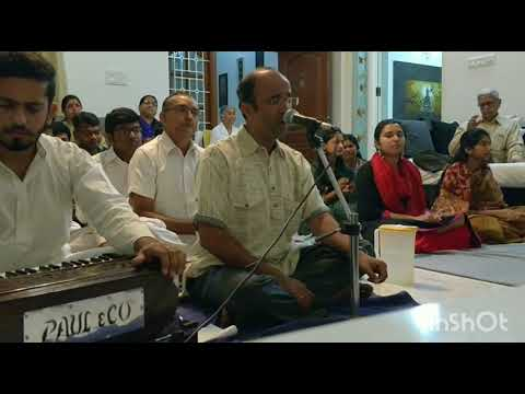 Blissful Bhajan with our Sai brother Mr.Ravi kumar